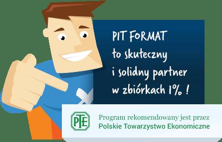 Darmowy program PIT Format