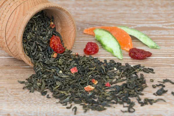 susz owocowej herbaty